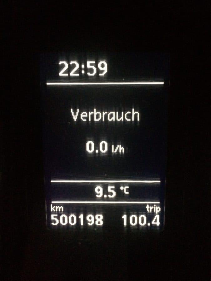 Taxi Rostock 154 halbe Million Kilometer Bild 1