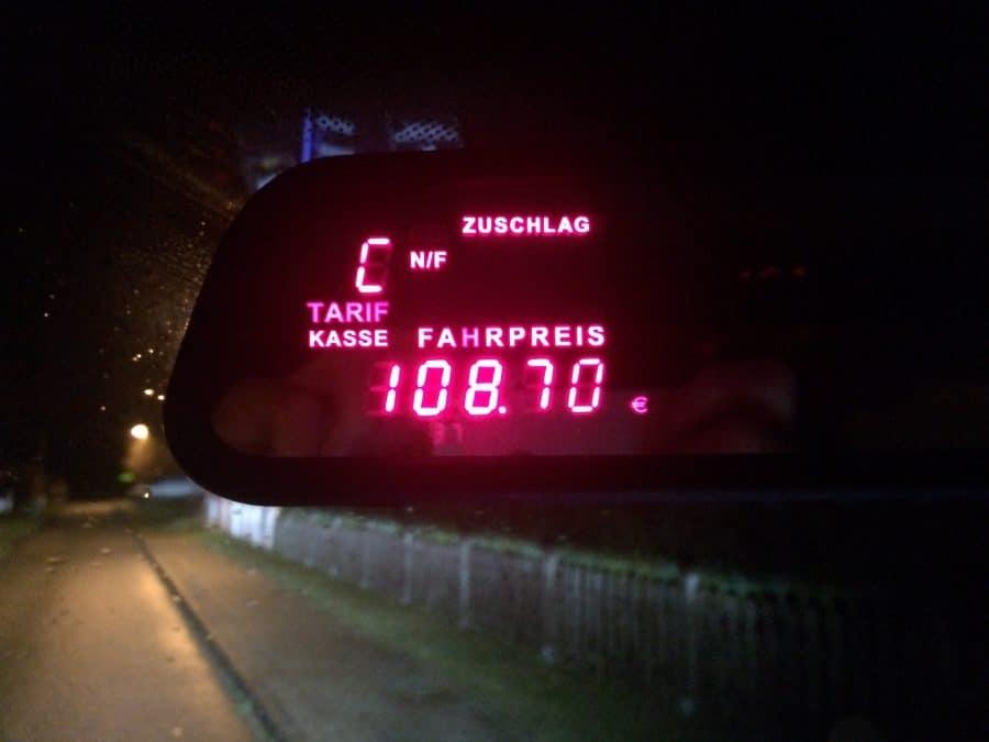 Taxi Rostock Weihnachtsfeier Faber Brandschutz Bild 1