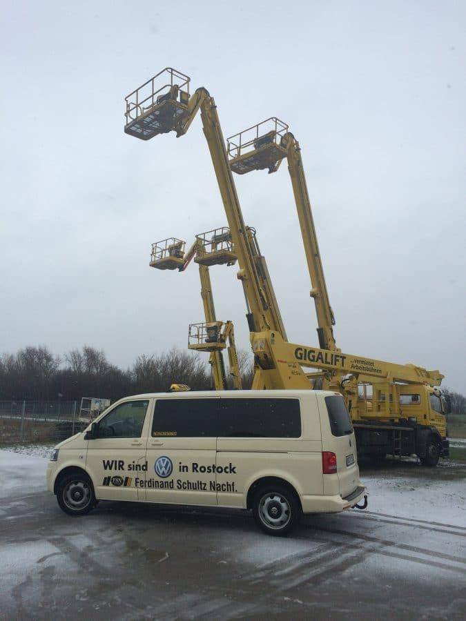 Taxi Rostock bei Gigalift in Roggentin Bild 1