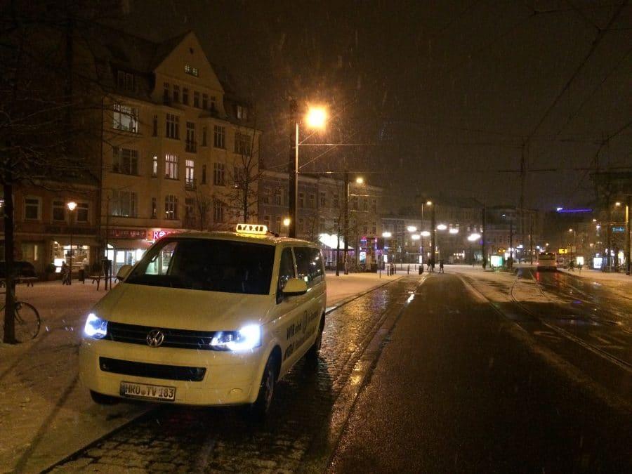 Taxi Rostock Dieter allein am Brink Bild 1