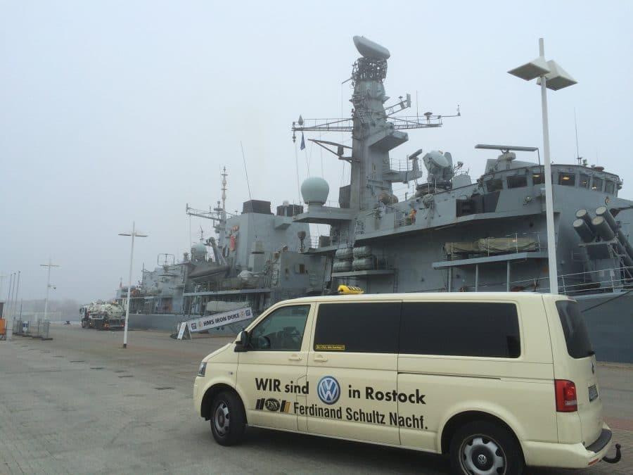 Flottenbesuch in Rostock