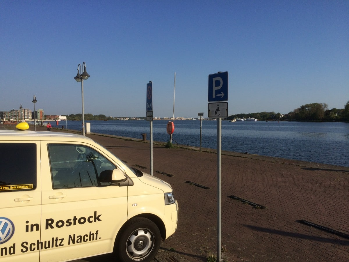 Taxi Rostock tolle Aussicht an Stand 1