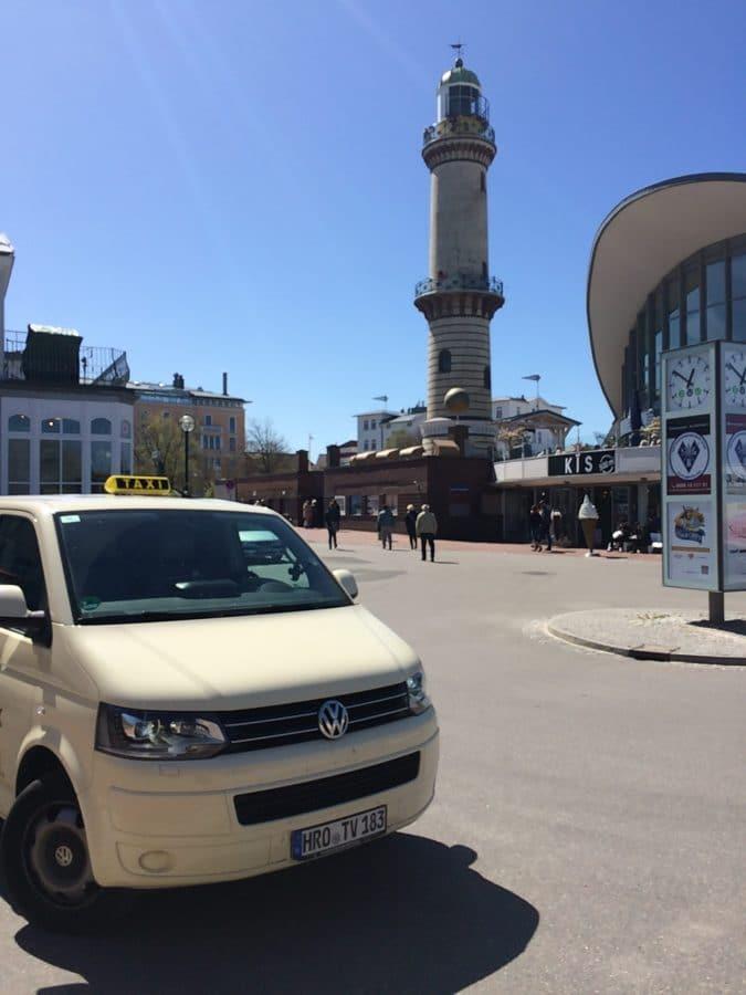Taxi Rostock Tour bei echtem Kaiserwetter Bild 1