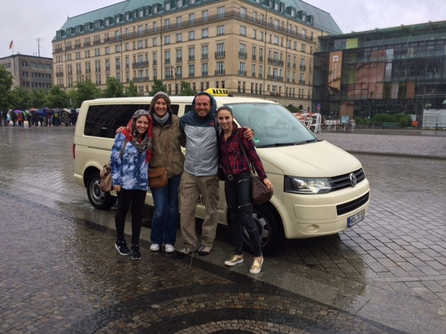 Taxi Rostock – Ausflug nach Berlin mit Mexikanern