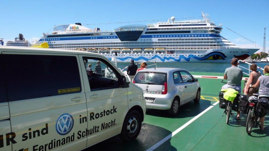 Taxi Rostock beim Bundeswehrtag