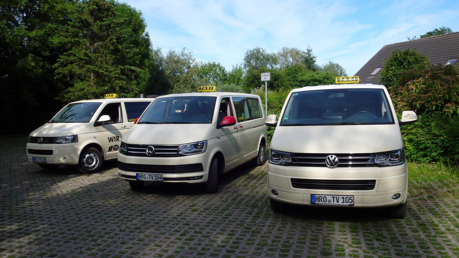Taxi Rostock Fahrzeugflotte