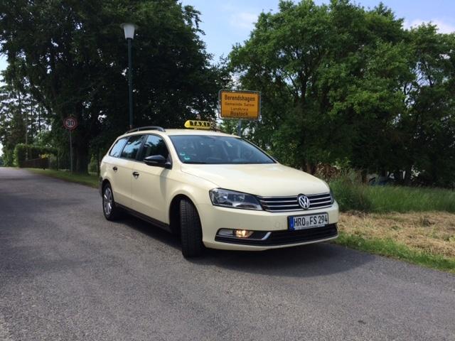 Taxi Rostock nach Berendshagen mit Herrn Stielow