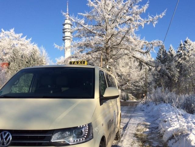 Taxi Rostock Winterimpressionen 2016 Bild 1