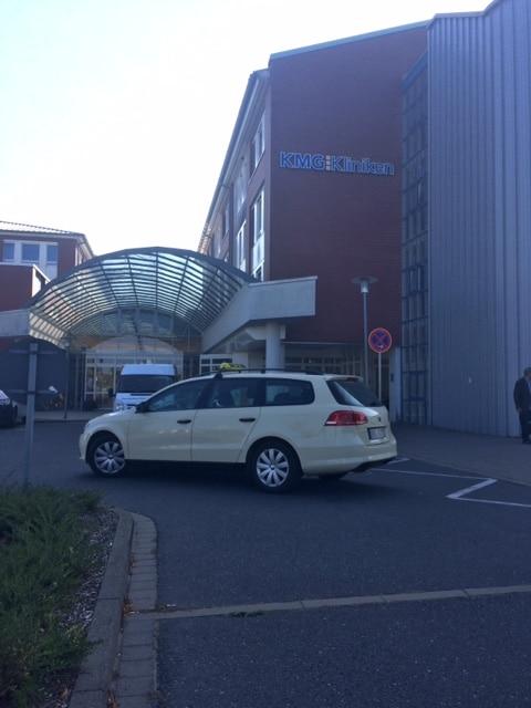 Krankentransport Rostock Fahrt ins Krankenhaus