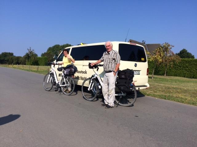 Taxi Rostock Fahrrad Transport zur Wohlenberger Wieck