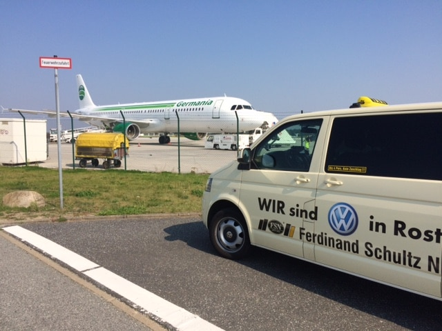 Taxi Rostock Flughafen Rostock Laage