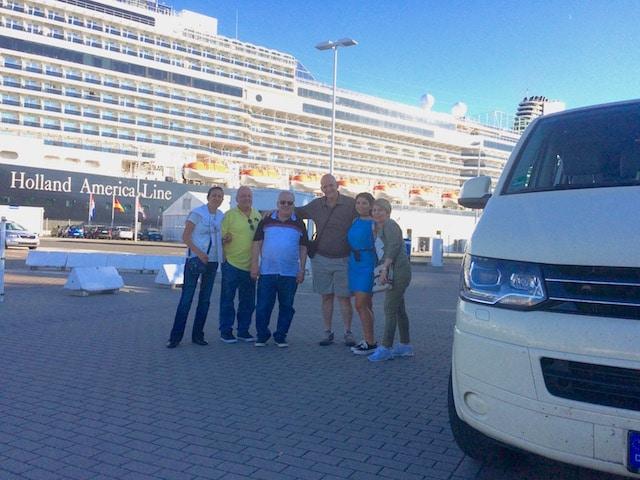 Taxi Rostock Marwan und Familie