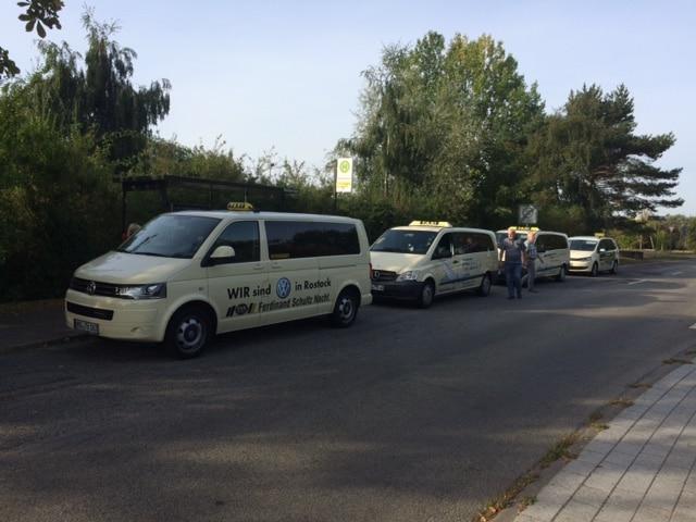 Taxi Rostock Schulklasse mit 29 Kindern