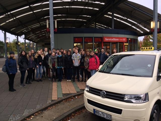 Taxi Rostock Cottbusser Gymnasiasten