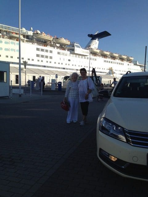 Taxi Rostock Tour in die Innenstadt