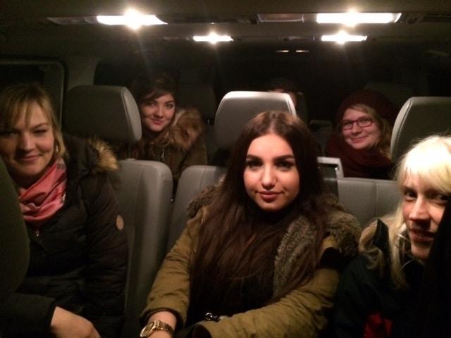 Taxi Rostock echte Scotti Netto Weiber