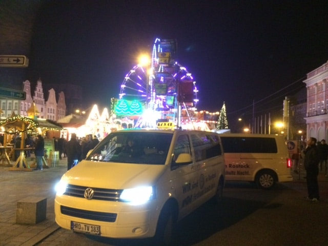 Taxi Rostock Weihnachtsfeier der Firma Jordan Bild 1