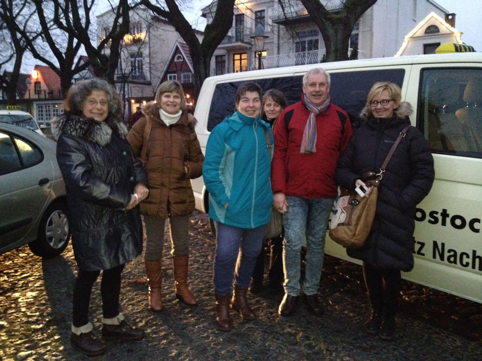 Taxi Rostock Ehrenamtler aus Greifswald Bild 1