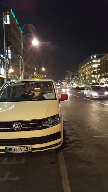 Taxi Rostock beim Tropeninstitut in Berlin