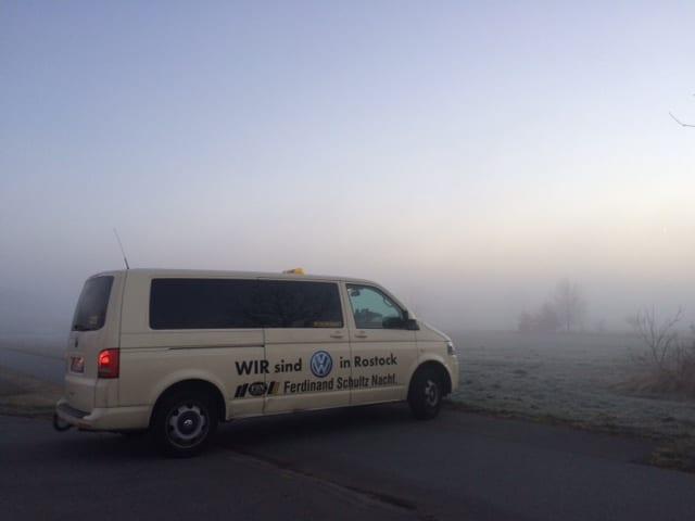 Taxi Rostock Tour nach Wustrow in der Nacht Bild 1