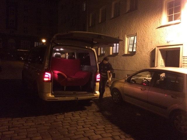 Taxi Rostock Umzug mitten in der Nacht