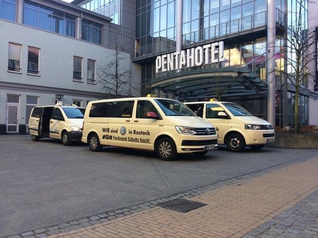 Taxi Rostock unterwegs mit dem Philologenverband Bild 1