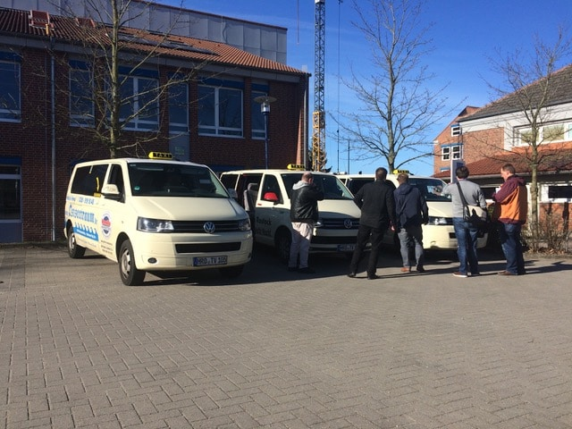 Taxi Rostock unterwegs mit dem Philologenverband
