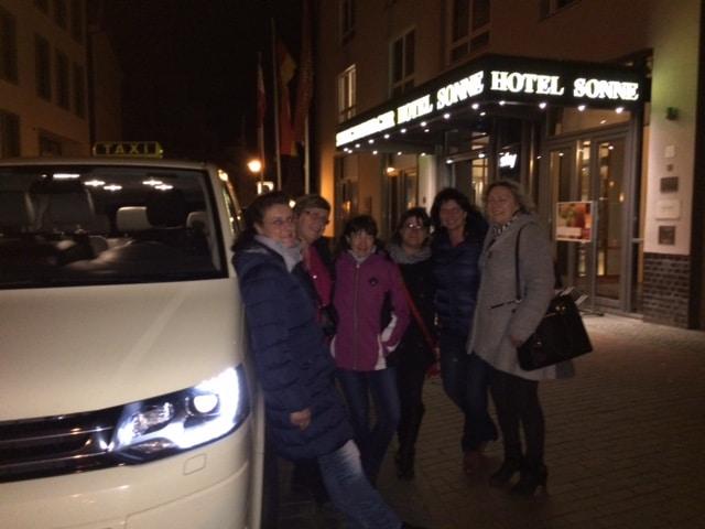 Taxi Rostock Ausflug von Usedomerinnen