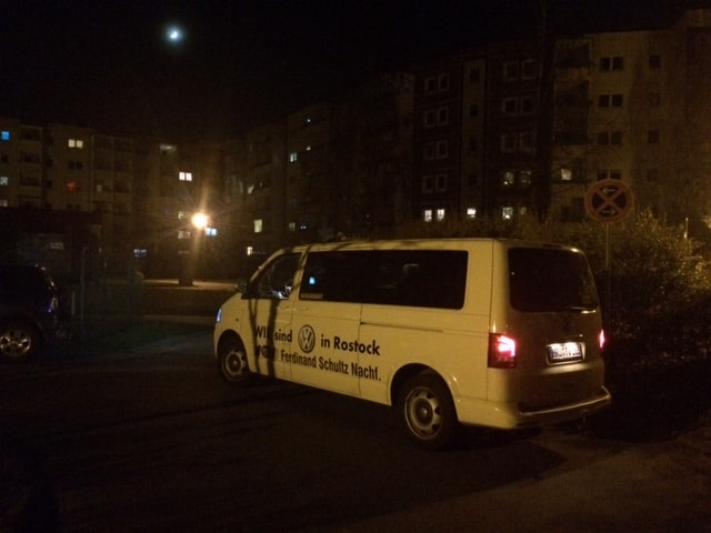 Taxi Rostock unterwegs mit dem Jugendamt Rostock Bild 1
