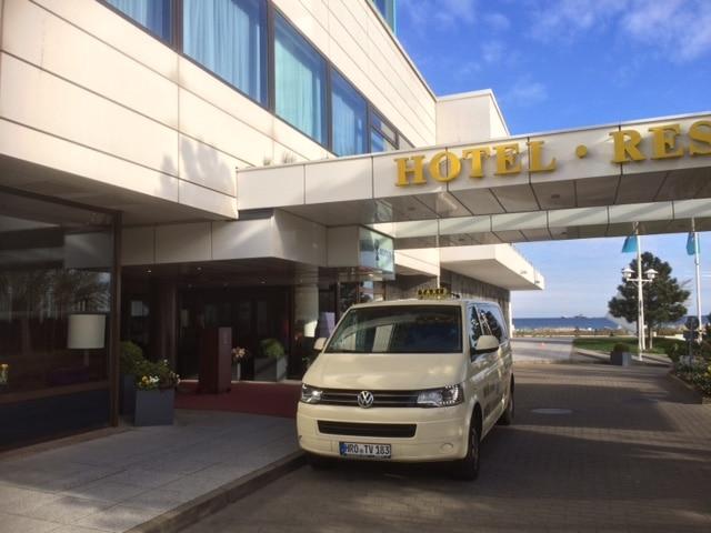 Taxi Rostock – Hotel Neptun nach Markgrafenheide