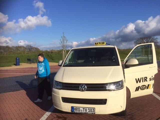 Taxi Rostock - Patientenabholung von Erlabrunn