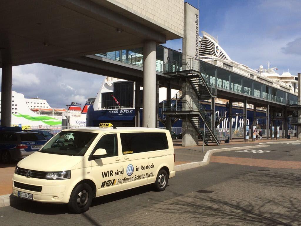 Taxi Rostock Tour nach Kiel zum Norwegenkai