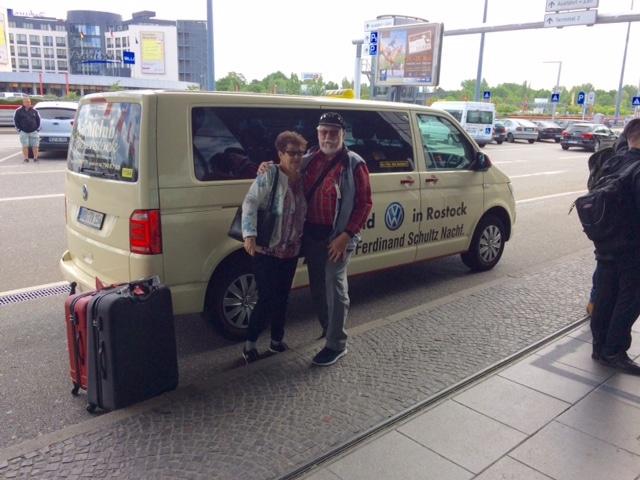 Taxi Rostock – 2 Schweizer nach Hamburg