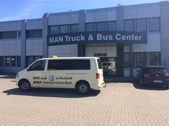 Taxi Rostock Auftrag von MAN Rostock