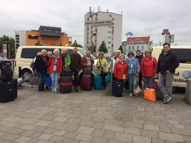 Taxi Rostock – evangelische Reisegruppe