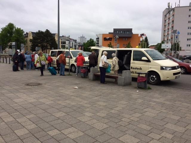 Taxi Rostock - evangelische Reisegruppe