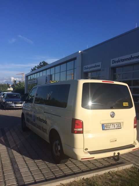 Taxi Rostock - Krankenfahrt nach Aachen