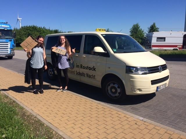 Taxi Rostock sammelt Karmapunkte