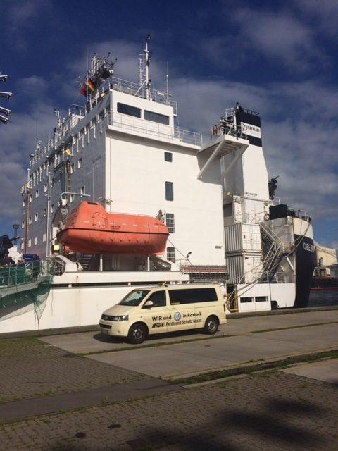 Taxi Rostock – Cable Enterprise im Überseehafen