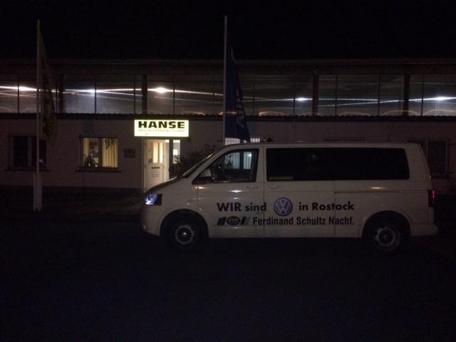 Taxi Rostock – Fahrt zur Abschleppfirma