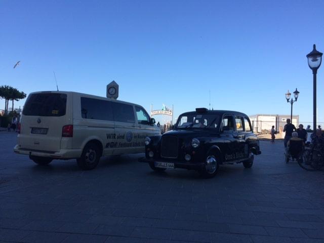 Taxi Rostock - Flughafentransfer nach Binz auf Rügen