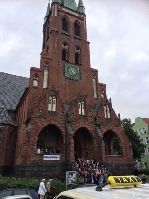 Taxi Rostock - Hochzeit in der Heiligengeistkirche
