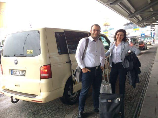 Taxi Rostock – Jahresmeeting Firma Heel
