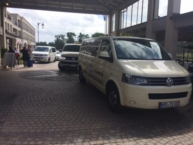 Taxi Rostock - Jahresmeeting Firma Heel