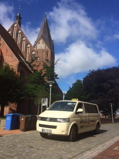 Taxi Rostock – Koffer von Rostock nach Barth