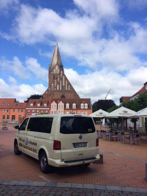 Taxi Rostock - Koffer von Rostock nach Barth