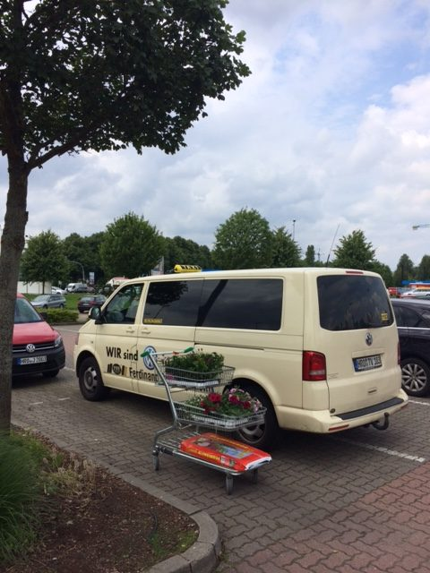 Taxi Rostock - Transport von Blumen