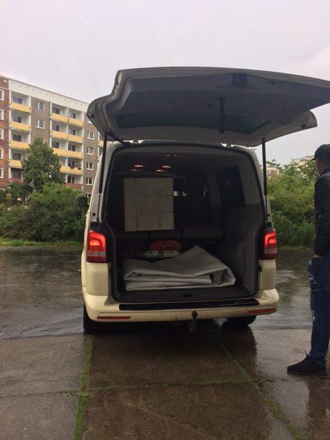 Taxi Rostock – Transport von einem neuen Gefrierschrank