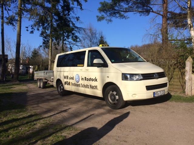 Taxi Rostock - Transport von Feldsteinen