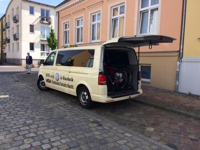 Taxi Rostock von Greifswald nach Priwall